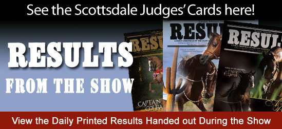 View the Printed Results handed out during the 2018 Scottsdale Show